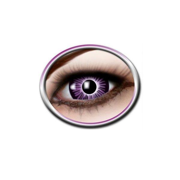 Epic Armoury Gekleurde contactlenzen vergroot oog paars