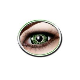 Epic Armoury Farbige große Augenkontaktlinsen grün