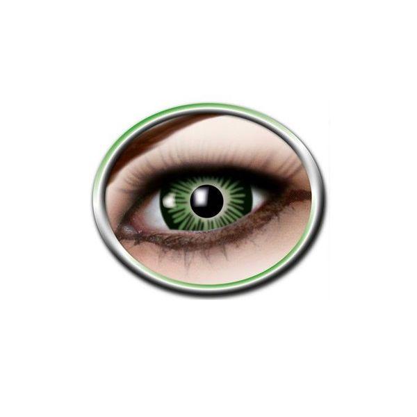Epic Armoury Gekleurde contactlenzen vergroot oog groen