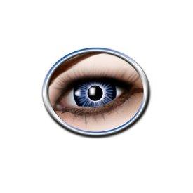 Epic Armoury Farbige große Augenkontaktlinsen blau