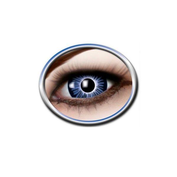 Epic Armoury Coloured big eye contact lenses blue
