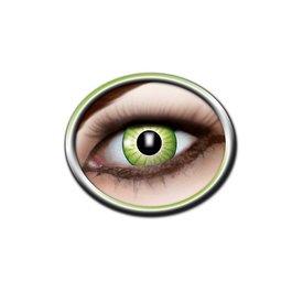 Epic Armoury Las lentes de contacto verdes épica