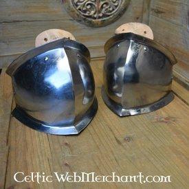Marshal Historical Middelalderlige knæ rustning