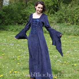 Vestido azul Aline