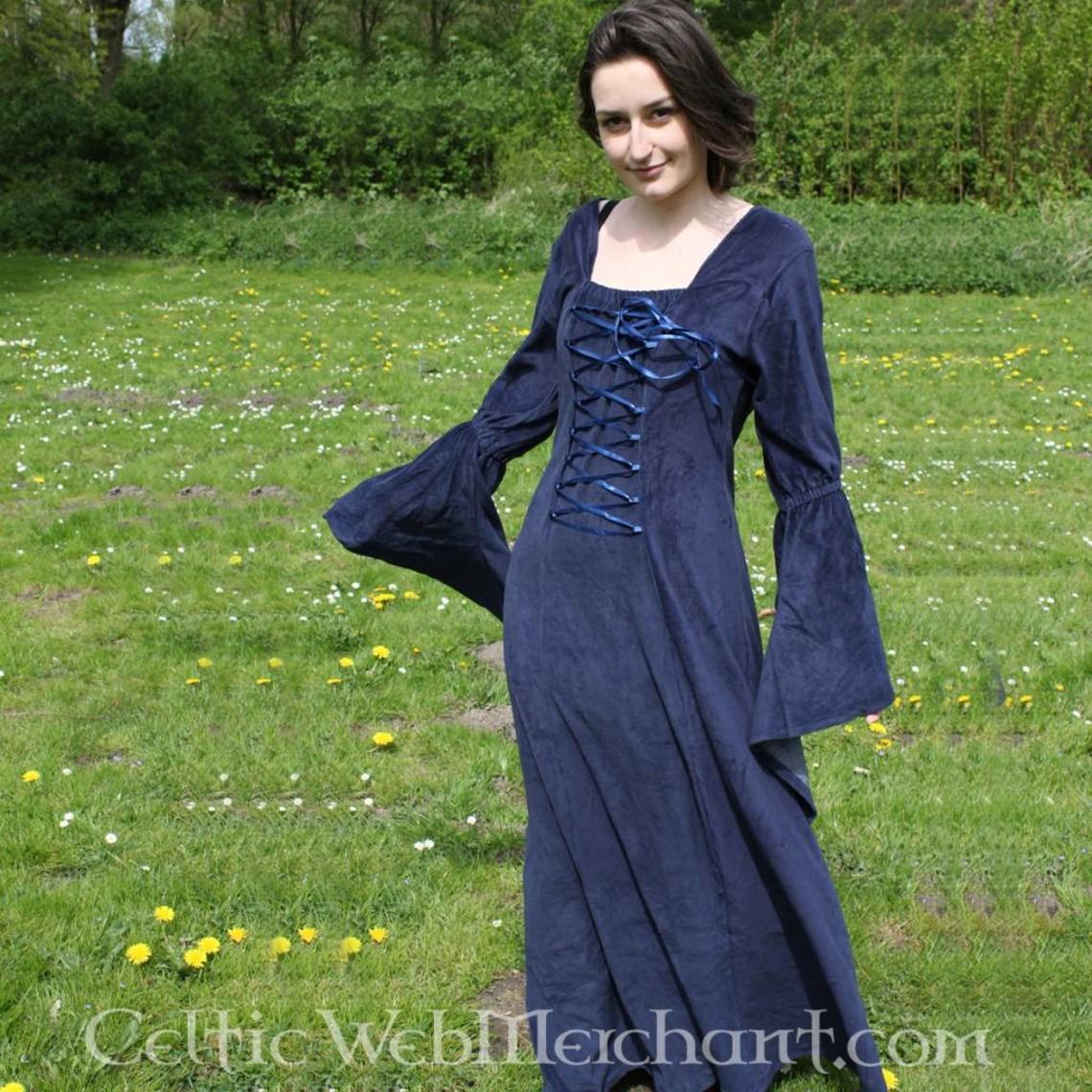 Leonardo Carbone Vestido azul Aline