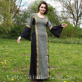Sukienka Cleena zielono-czarny