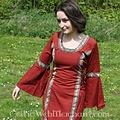 Leonardo Carbone Vestido Cleena rojo