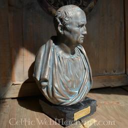 Bronzierte Büste Cicero