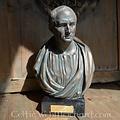 Gebronste buste Cicero