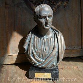 Bronzed buste Cicero