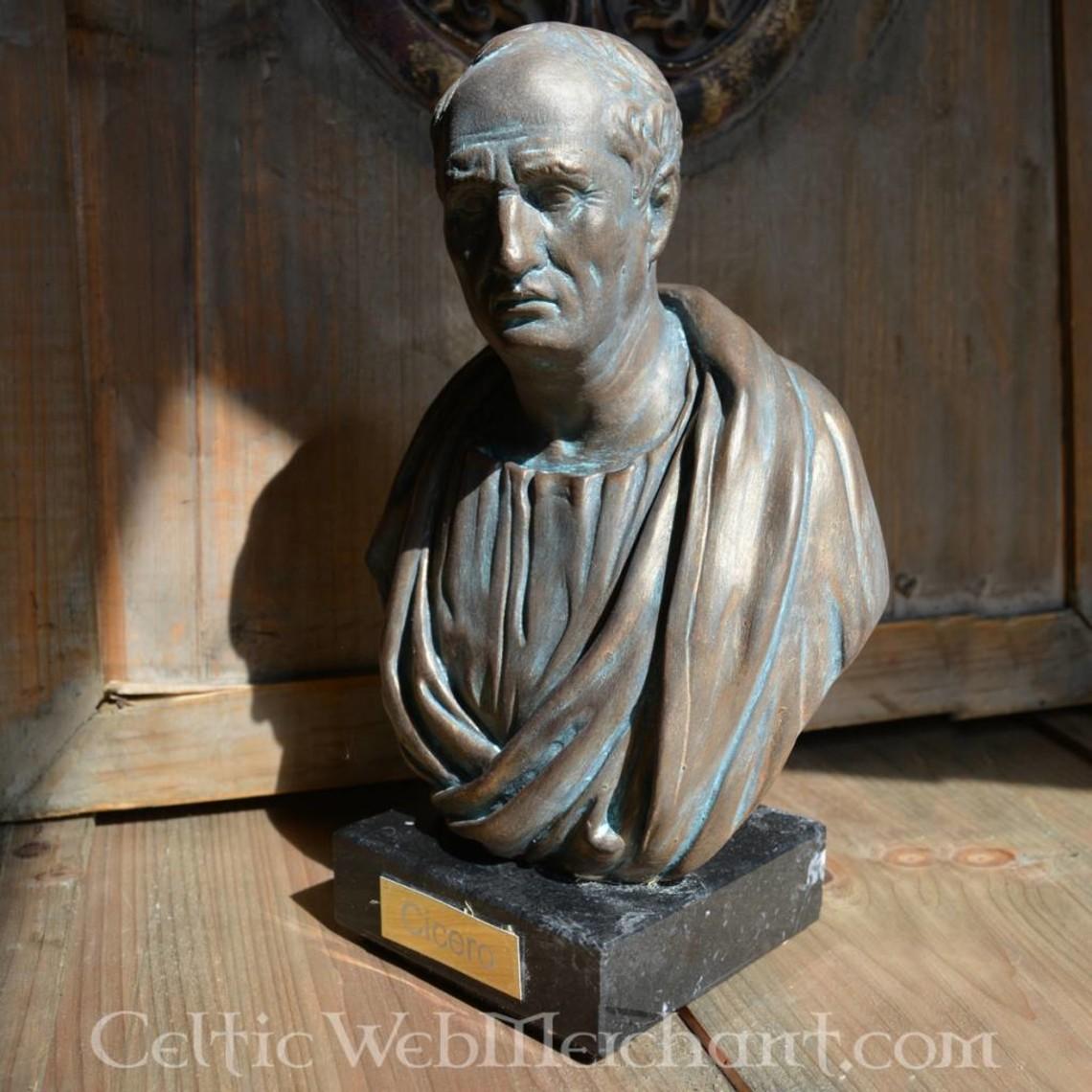 busto de bronce Cicero