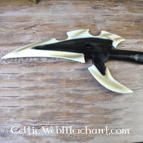 Epic Armoury Dark Elven oorlogshamer, foam, een LARP wapen