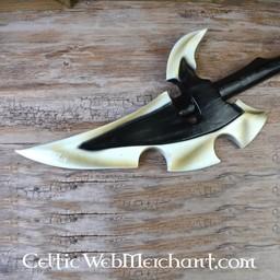 Mörk Elven War Yxa, skum Vapen