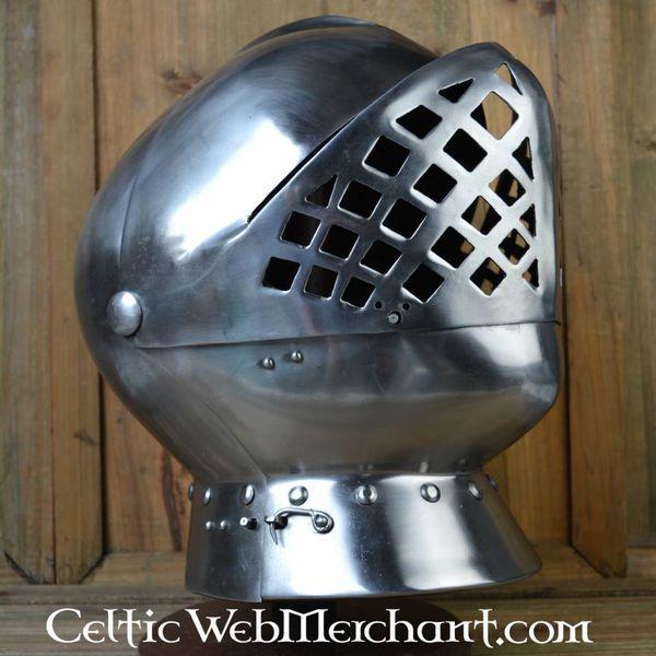 Royal Armouries Henry VIII jousting helmet