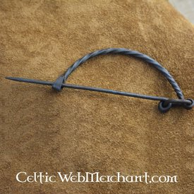Bow shaped brooch