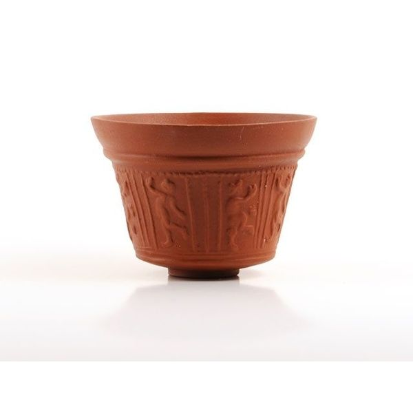 Cup mit Satyr Relief (Terra Sigillata)