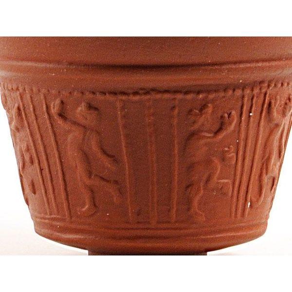 Kopp med satyr relief (terra sigillata)