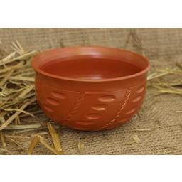 Roman bowl with grain motives (terra sigillata)