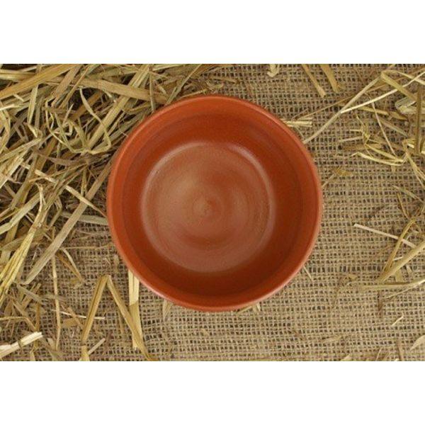 Piatto con bassorilievo romano (terra sigillata) (II-III secolo AD)
