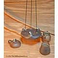 Keramik Öllampe