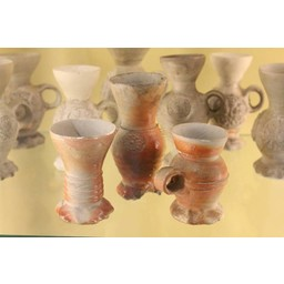 15th century funnel neck cup