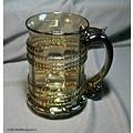 Glazen bierpul