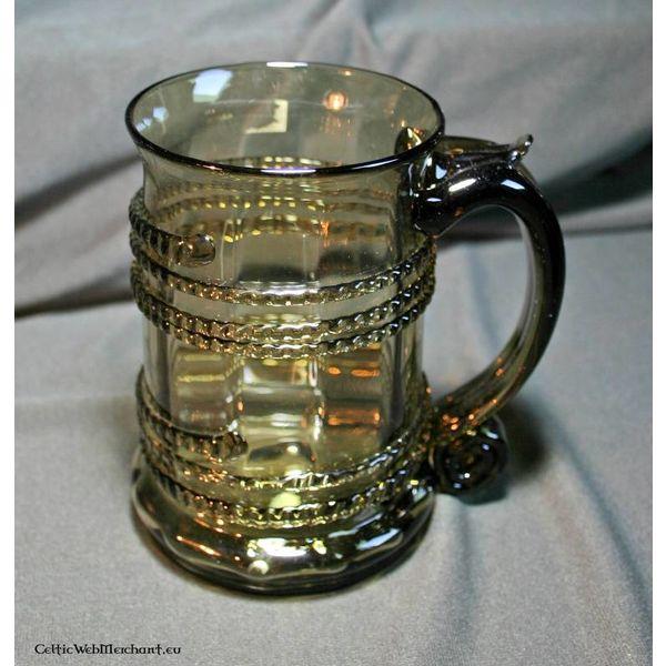 Glass öl rånar
