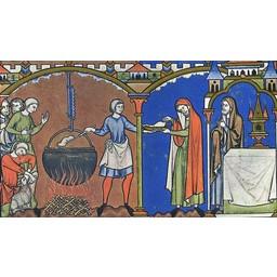 Mittelalterlicher Kessel