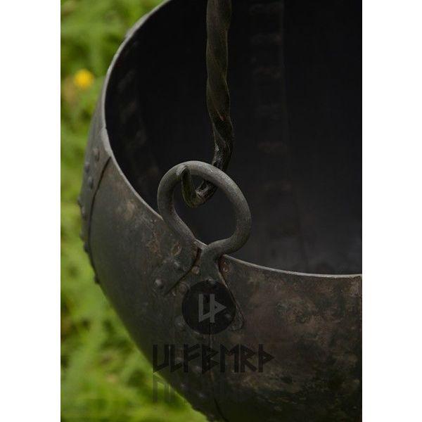 Ulfberth Wczesnośredniowieczny kocioł, 10 litrów