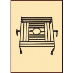 Sen romersk matlagning rack