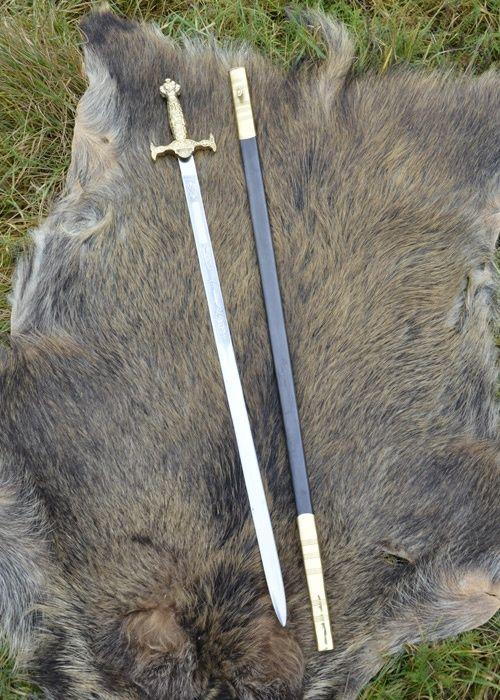 Ceremonial sword, gold