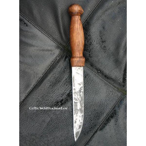 Cuchillo Vikingo forjado a mano