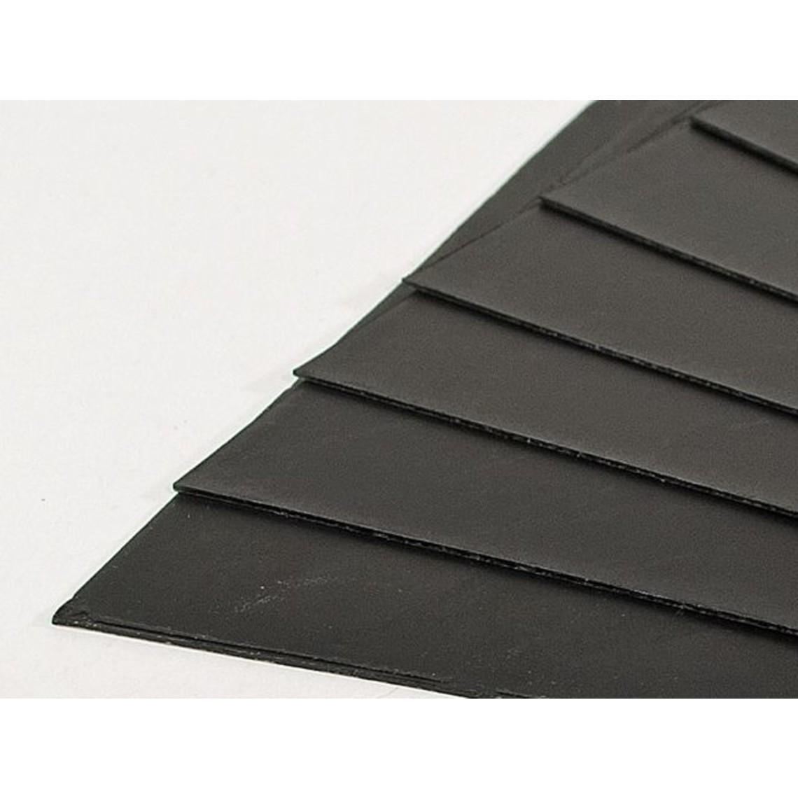 Placas de cera negra, conjunto de 10
