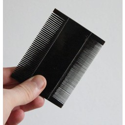 Double comb, horn