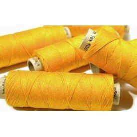 Filato di lino giallo, 50 m