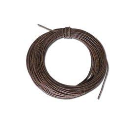 Cinturino in pelle grezza 2,5 mm, prezzo al metro
