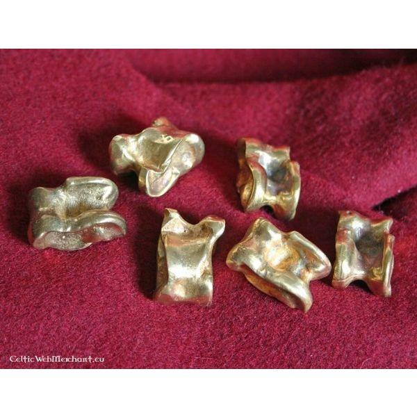 Roman astragalus (knucklebone), brass