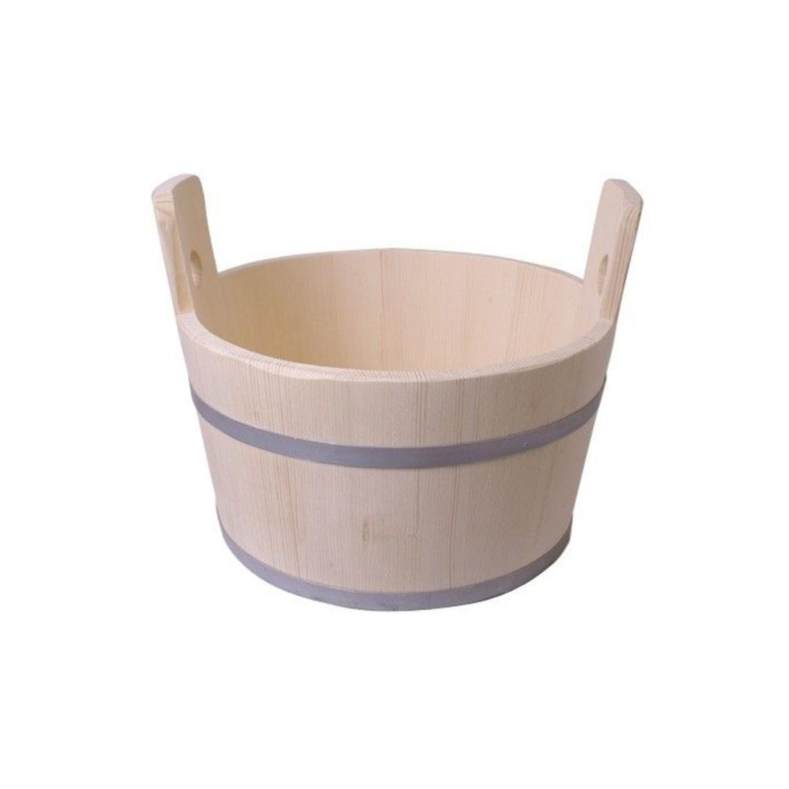 Baquet en bois