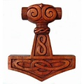 Marteau de Thor avec des noeuds
