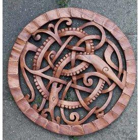 Wooden Midgard ormen