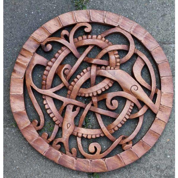 Wooden Midgard snake