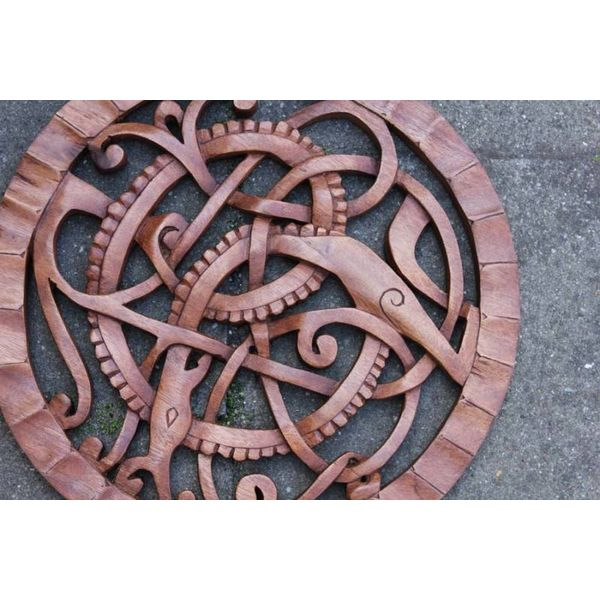 Drewniany wąż Midgardu