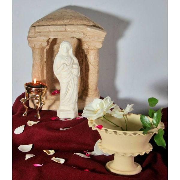 Romersk offerfund statue gudinde Juno