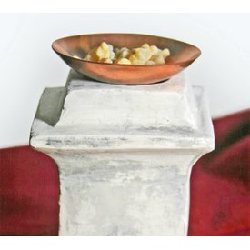incenso Roman cobre tigela