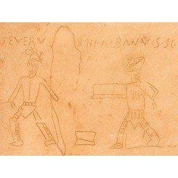 Gladiator Graffiti Pompeji