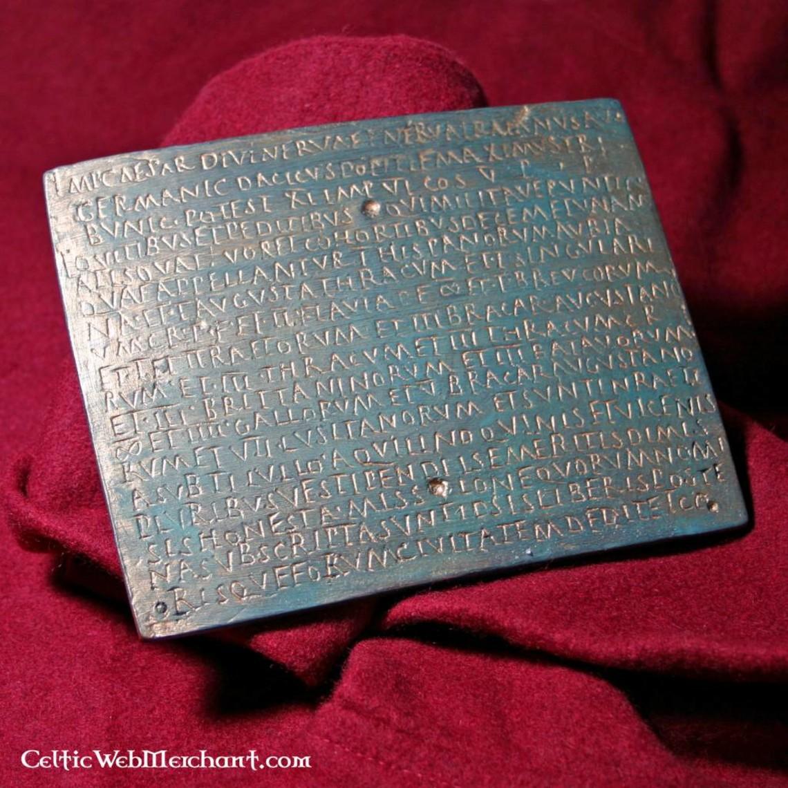 Romeins militair diploma