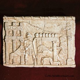 Relief gladiatorkampe Circus Maximus