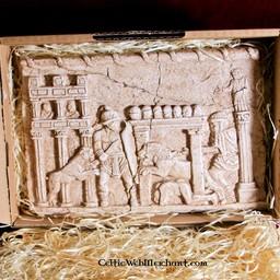 Relief gladiator battles Circus Maximus