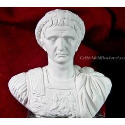 Bust emperor Tiberius Claudius Nero