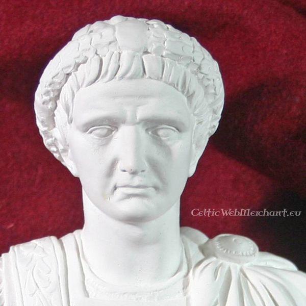 Bust kejser Tiberius Claudius Nero